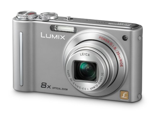 Panasonic LUMIX DMC-ZX1 EG-S Digitalkamera (12 Megapixel, 8-fach opt. Zoom, 6,9 cm (2,7 Zoll) Display, Bildstabilisator) silber