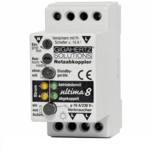 Gigahertz Solutions Netzabkoppler Ultima 8