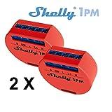 Shelly 1 PM WLAN Schalter mit Messfunktion 2er Pack