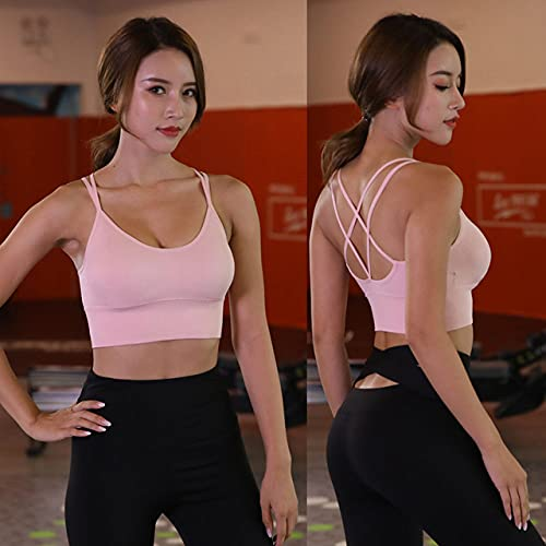 YHWW Ropa de Yoga,Conjuntos de Yoga sin Mangas para Mujer Ropa de Gimnasia para Mujer Mono Deportivo Delgado de Cintura Alta Entrenamiento Deportivo Mamelucos Ajustados Conjunto de Ropa de g