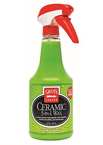 Griot's Garage 10978 3-in-1 Ceramic Wax 22oz