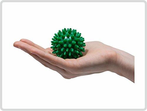 Igelball Igel-Ball Noppenball Massageball, ø 5 cm Farbe: Grün *Top-Qualität*