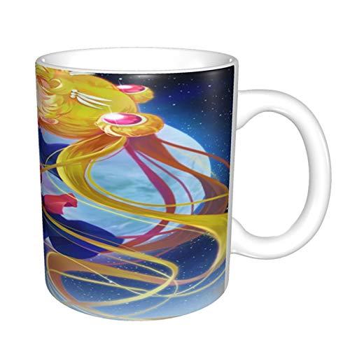 Sailor Moon - Taza de café divertida, ideal para regalo para veteranos militares