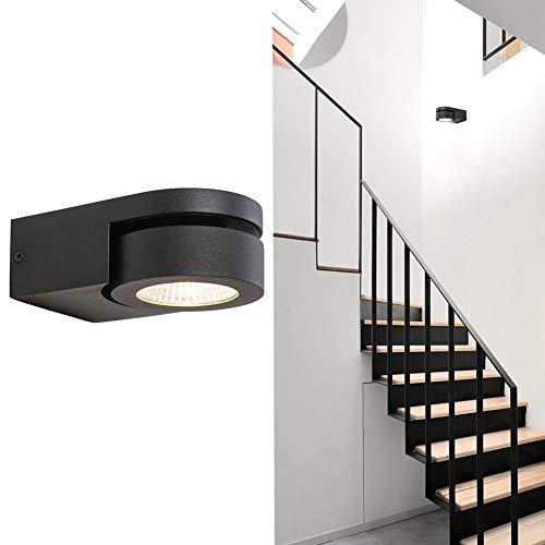 BETLING LED Apliques Pared Interior Focos Bañadores de pared lámpara de pared Iluminación punto pista con Cree Chip 10W, direccional para dormitorio lectura escalera pasillo oficina comercial