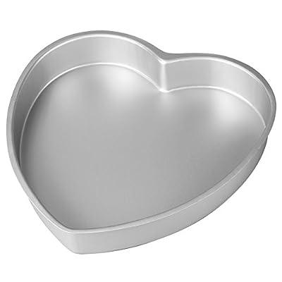 Wilton Aluminum Heart Shaped Cake Pan, 8 inch