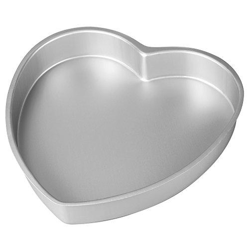 Wilton 2105-601 Kuchenform Herz, Aluminium, 23,5 cm