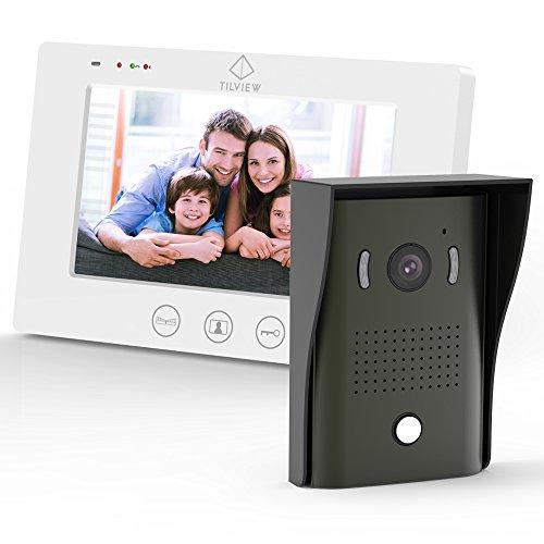 Videocitofono, TILVIEW Kit per Videocitofono a...