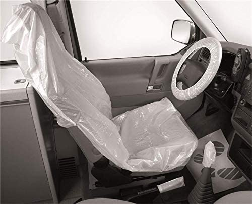 Förch Clean Set 5in1 Kfz Sitzschoner Bezug Sitz Handbremse Schaltknauf Werkstatt 2 Auto