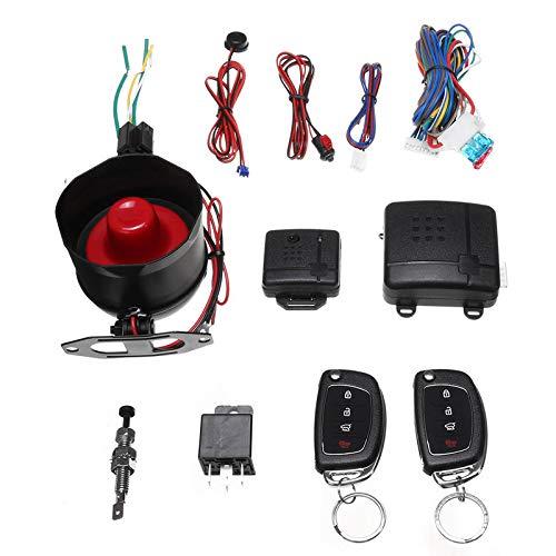 YALIXING Anti-Robo de Coche - Control Bluetooth Vibration Record Auto Bloquear Desbloquear Alarma de automóvil Haz Que su Conducir Sea más Seguro