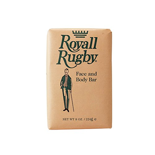Royall Fragrances Rugby Face and Body Soap for Men, 8.0 Fluid Ounce