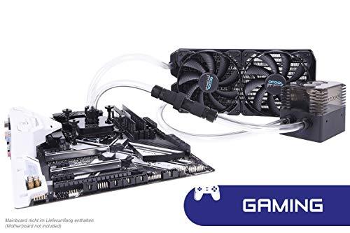 Alphacool 11467 Eissturm Gaming Copper 30 2x140mm - Komplettset Wasserkühlung Sets und Systeme