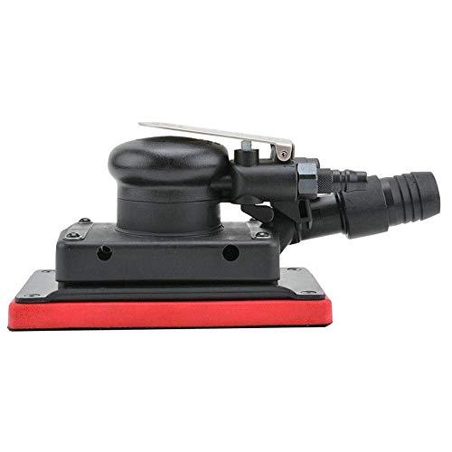 LIANGANAN Practica portátil neumática rectangular neumático papel de lija de la máquina, con un aspirador de mano a mano Herramienta Herramientas Industrial