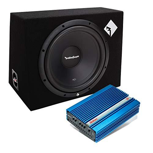 I-SOTEC Auto/KFZ Plug & Play Upgrade Soundsystem (Subwoofer+Endstufe) 1X12 kompatibel mit Skoda - III - Mediadox