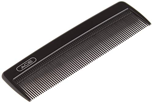 GOODY Ace Classic Bobby Pocket and Purse Hair Comb - 5 Inch, Black - Great for All Hair Types - Fine Comb Teeth for Thin to Medium Hair