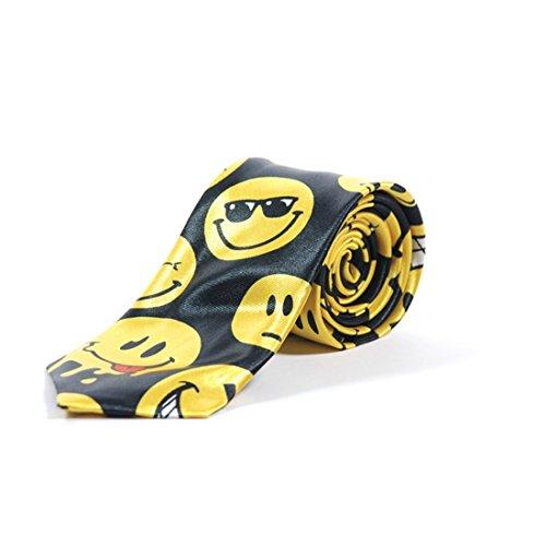 Cravatte Mince Émoticon Smileys