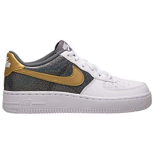 Nike Kinder Air Force 1 SE (GS) Sneaker Weiß 37,5