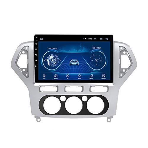 DSAK Auto Multimedia Player Car GPS Navigator è Adatto per Ford Mondeo 2007-2010 Inversione dell'immagine Android Big Screen Dvd Navigazione