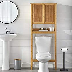 bamboo bathroom cabinet for small spaces