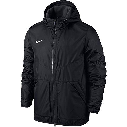 NIKE Team Fall Jkt Sport Jacket, Unisex niños, Negro (Black