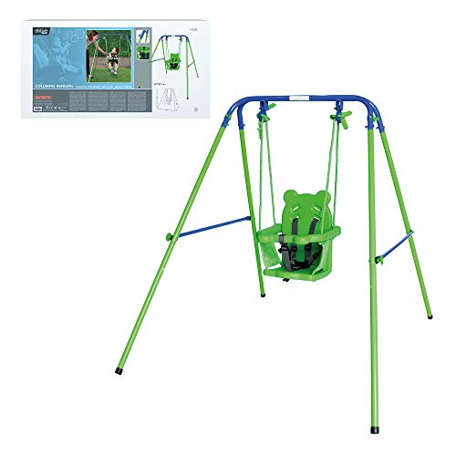 Aktive 54079 - Columpio bebé con asiento de protección Aktive Sports 119 x 110 x 140 cm