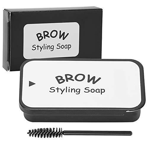 Kit de jabón para cejas, jabón para peinar las cejas, de larga duración, resistente al agua, a prueba de manchas, pomada para peinar las cejas para cejas naturales, jabones, gel fijador de cejas, 20 g