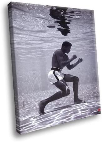 H5D6894 Muhammad Ali Underwater Cassius 20x Clay BW Boxing Sport Max 40% OFF Fashionable