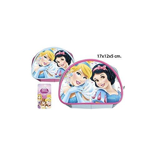 Disney–Handtasche Kosmetiktasche PVC Princess Modelle sortiert, 17x 12x 5cm.