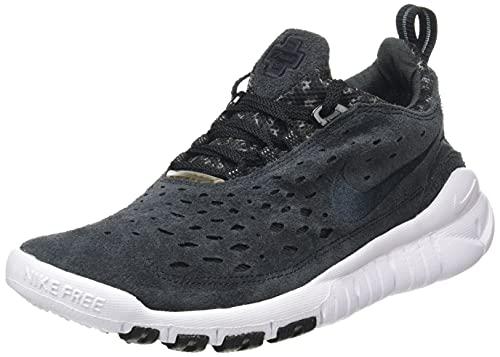 Nike Free Run Trail, Zapatillas para Correr Hombre, Negro Antracita y Blanco, 44 EU