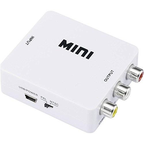 Speaka AV Konverter [HDMI - Composite Cinch] 1920 x 1080 Pixel Professional SP-HDMI2AV