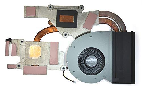 Ellenbogenorthese-LQ Ventilador de CPU Nuevo Ventilador de refrigeración de CPU para computadora portátil con reemplazo de disipador de Calor para IBM Lenovo Ideapad Y510P AT0SF001SS0 Accesorios.