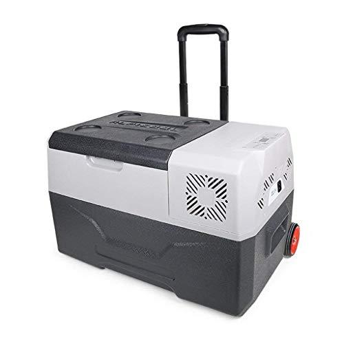 OutingStarcase Compresor portátil frigorífico congelador 12v recorrido de coche Refrigerador más cálidas y más frías 2 Modos manija grande Capacit de bloqueo automático for viajar y camping (Tamaño: C
