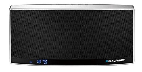 Blaupunkt BT10BK Tragbar Lautsprecher mit NFC/Radio/MP3-Player/micro SD 32GB/Akku 1800mAh/Powerbank (LCD-Display)