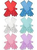 Zhanmai 6 Pairs Princess Dress Up Long Gloves...
