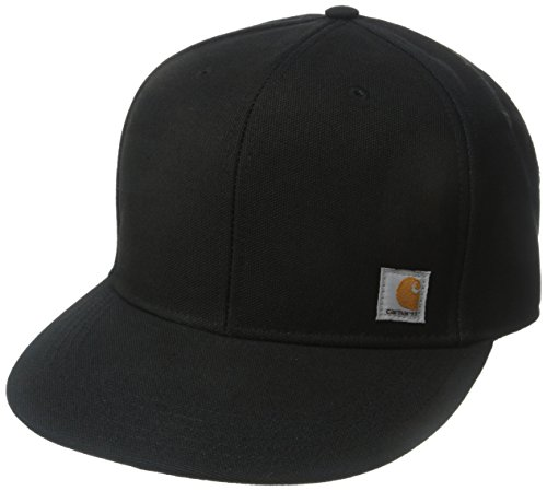 Carhartt Men's 100 Percent Cotton Duck Moisture Wicking Fast Dry Ashland Cap,Black,One Size