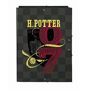 safta 512030068 Carpeta Folio con 3 Solapas de Harry Potter, 260x365mm 8