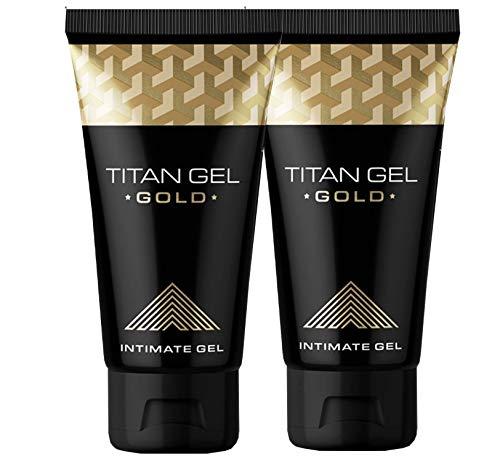 TITAN GEL GOLD 2x50ml NEW