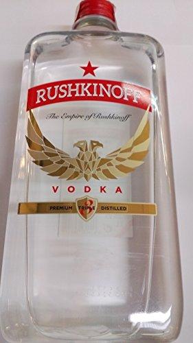 vodka Rushkinoff 1 Litro botella plasticó 37.5%