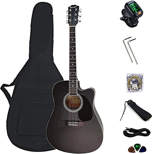 Columbus CDN 41' electro electric cutaway dreadnought acoustic guitar...