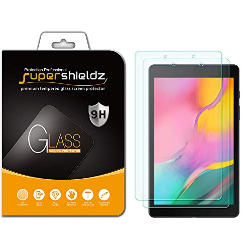 (2 Pack) Supershieldz Designed for Samsung Galaxy Tab A 8.0 (2019) (SM-T290 Model only) Tempered Glass Screen Protector…