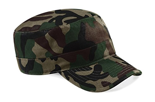Army Military Cap im Kuba Castro Look in 13 Farben und Camouflage CB33