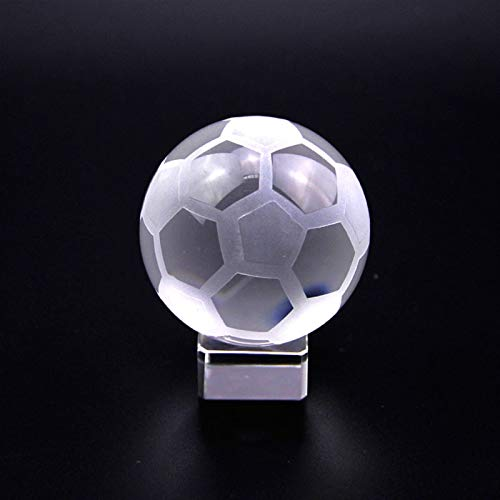 NYKK Divination Sphere Crystal Ball Fortune Telling Bal Sports souvenir crystal ball glass ball with stand miniature decorative ball grounding crystal ball paperweight for Decorative Ball