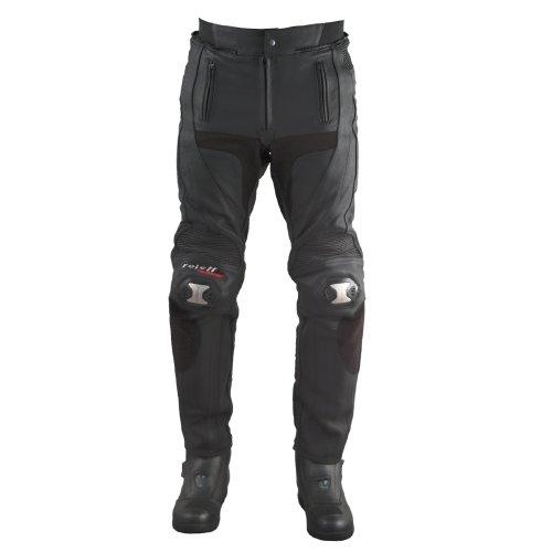 Roleff Racewear Lederhose Racestyle, Schwarz, Größe 54