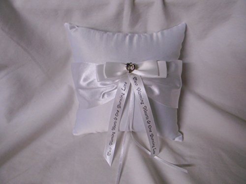 Wedding ceremony Party Ring bearer Pillow western Gold Saddle Cowboy Message