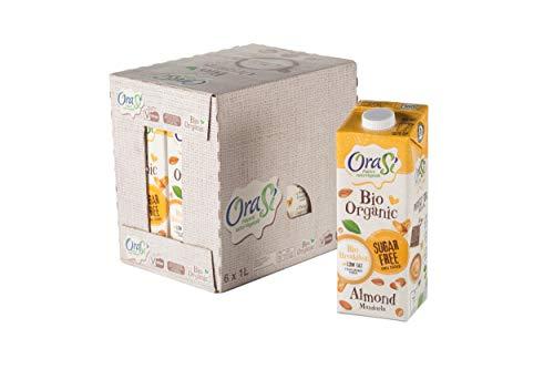 Orasì Bevanda Biologica di Mandorla, 1 litro, 6 unità