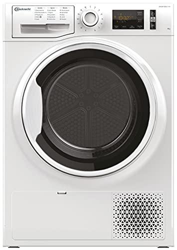 Bauknecht T Sense M11 8X3WK DE / 8 kg/ActiveCare-Technologie/Leichte und schnelle Reinigung dank EasyCleaning-Filter/Bügelleicht-Programm/Wolle-Programm/Startzeitvorwahl
