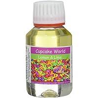 Cupcake World Aromatizante Alimentario Limón Lima - 100 ml