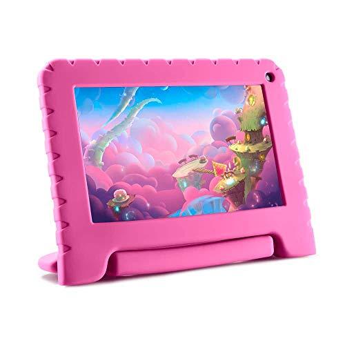 Tablet Infantil Mirage 45T 8GB de Memoria Interna e 1GB Ram com Tela 7 Pol. Frontal 1.3 MP Rosa – 2016