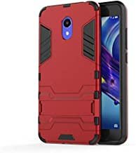 Fitted Cases - for Meizu M6 2GB 16GB 3GB 32GB Shockproof Stand Hard case for Meizu m6 note meizu note 6 Combo Armor shell iron Man Back cover (GTX RD for Meizu m6 note)