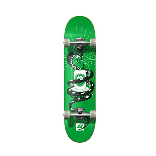 Hydroponic Snake Skate Completo, Unisex Adulto, Green, 7,875