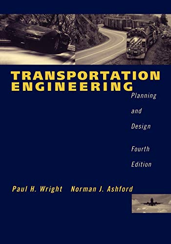 Transportation 4e: Planning and Design